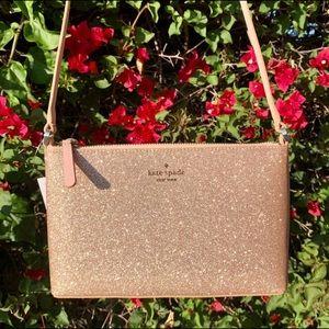 Kate Spade Joeley Glittery Crossbody Bag